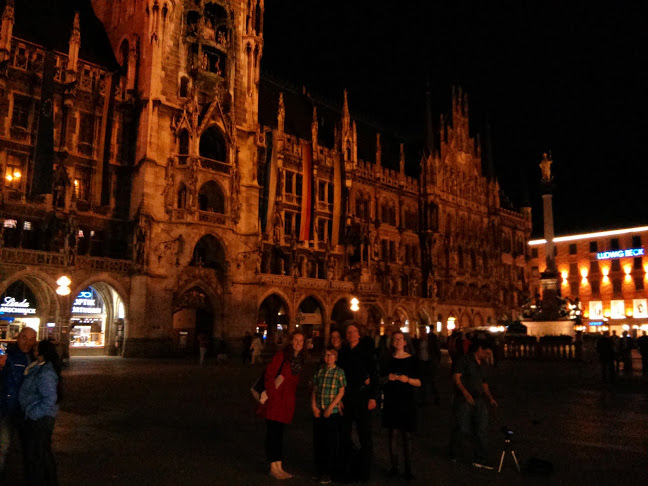 In the main square in Munich.