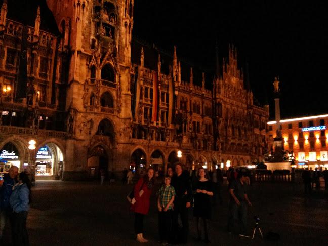 In the main square in Munich.